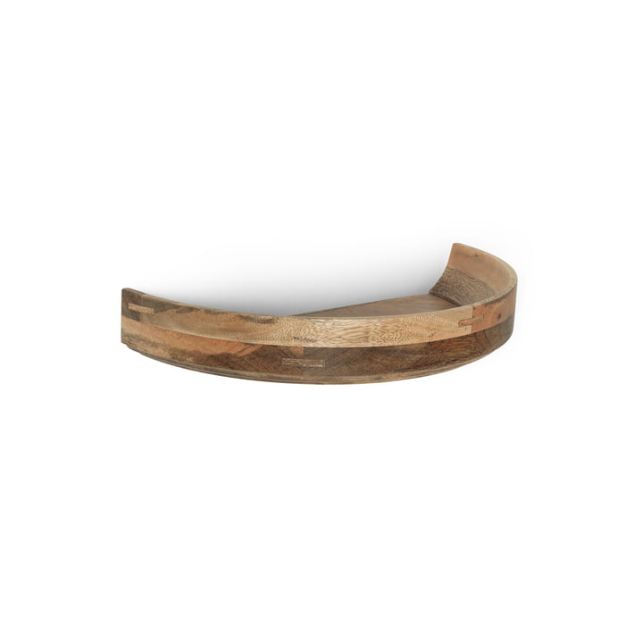 Bowl Wall Edition Shelf Medium / Ø 46 cm by Mater in Natural