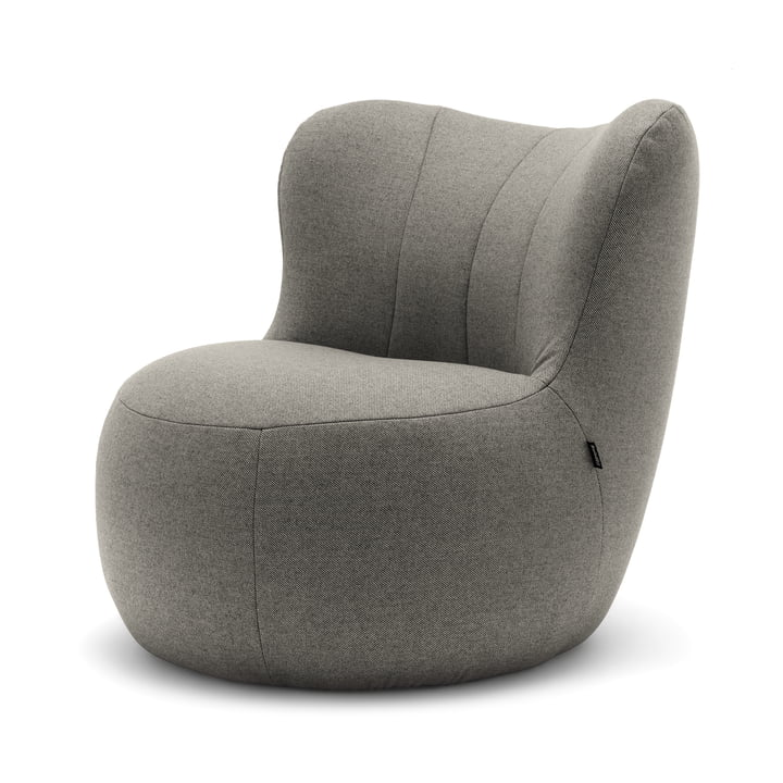173 Armchair by freistil in Grey (1026)