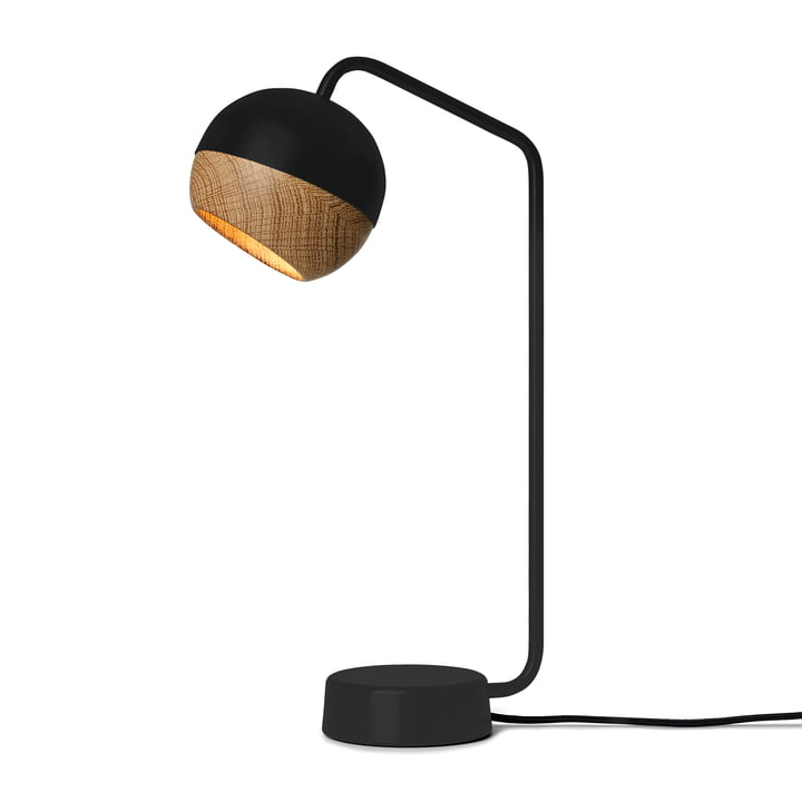 Ray Table Lamp H 40.1 cm by Mater in Black