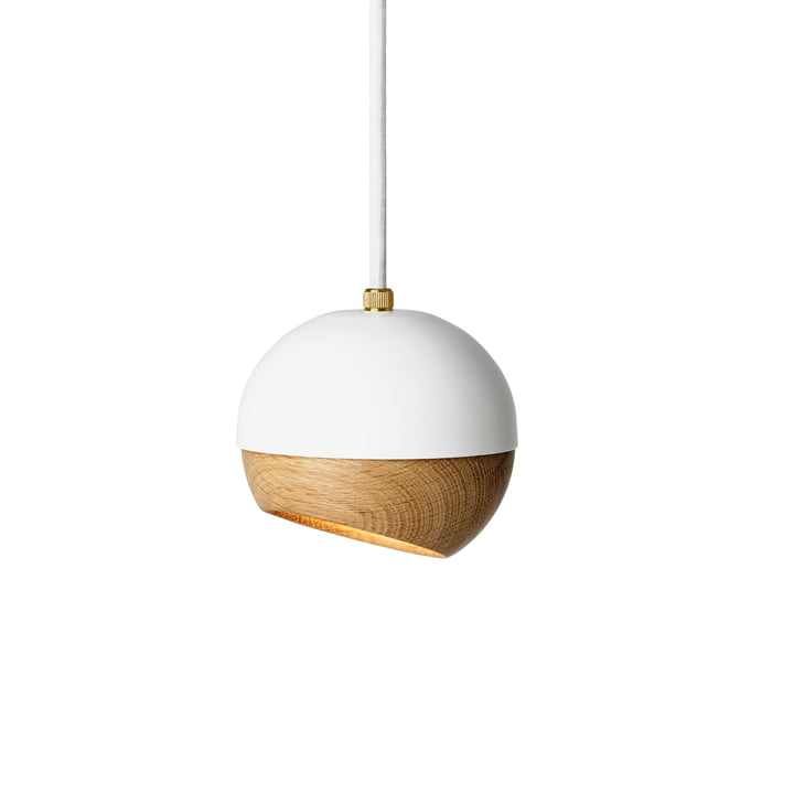 Ray Pendant Lamp Ø 11,9 cm by Mater in White