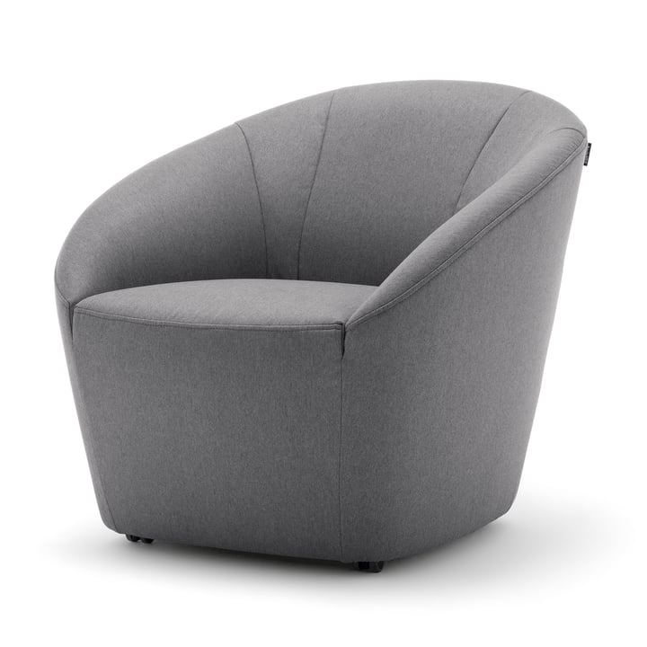 178 Armchair by freistil in Blue Grey (1073)
