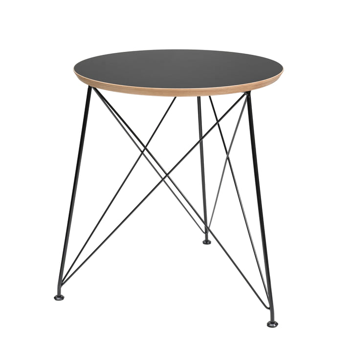 Brace - Filigree Coffee Table in Black
