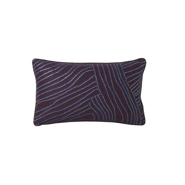 Salon Bolster Cushion, 40 x 25 cm by ferm Living in Coral