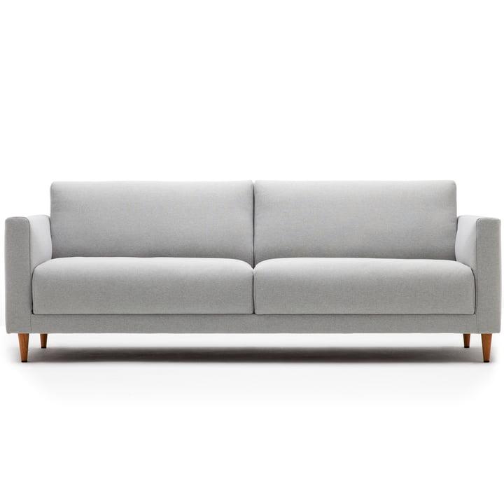 Freistil - 141 Sofa, 3-Seater, Conical Natural Oak Legs / Light Upholstery