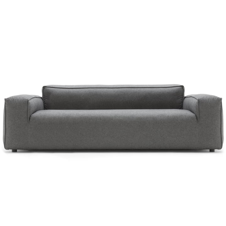 3-Seater 175 sofa by freistil (Low Side Parts) with Graphite Grey Upholstery (5246)