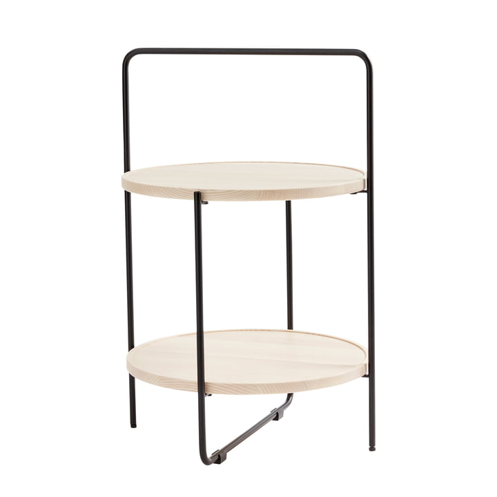 Andersen Furniture - side table Ø 46 cm, black / ash nature