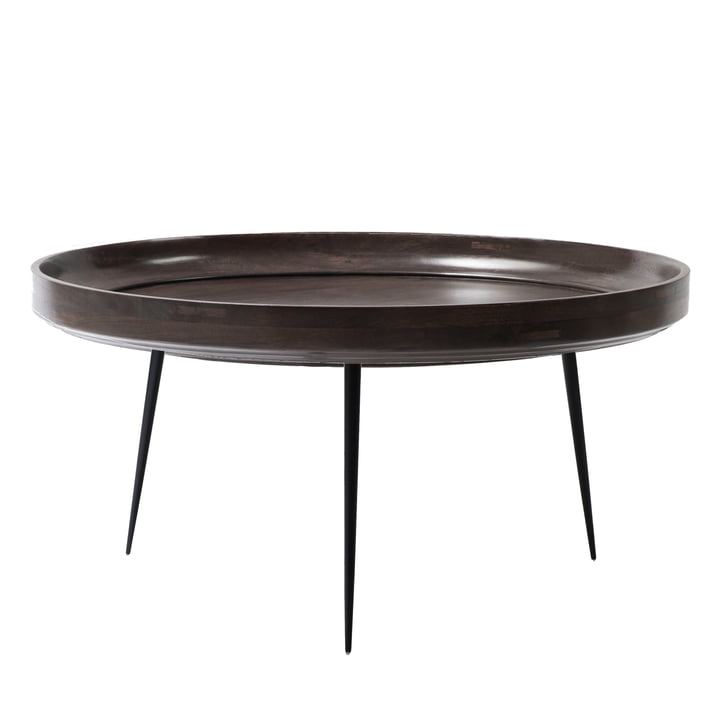 Bowl Table XL Ø 75 x H 38 cm by Mater in Sirka Grey