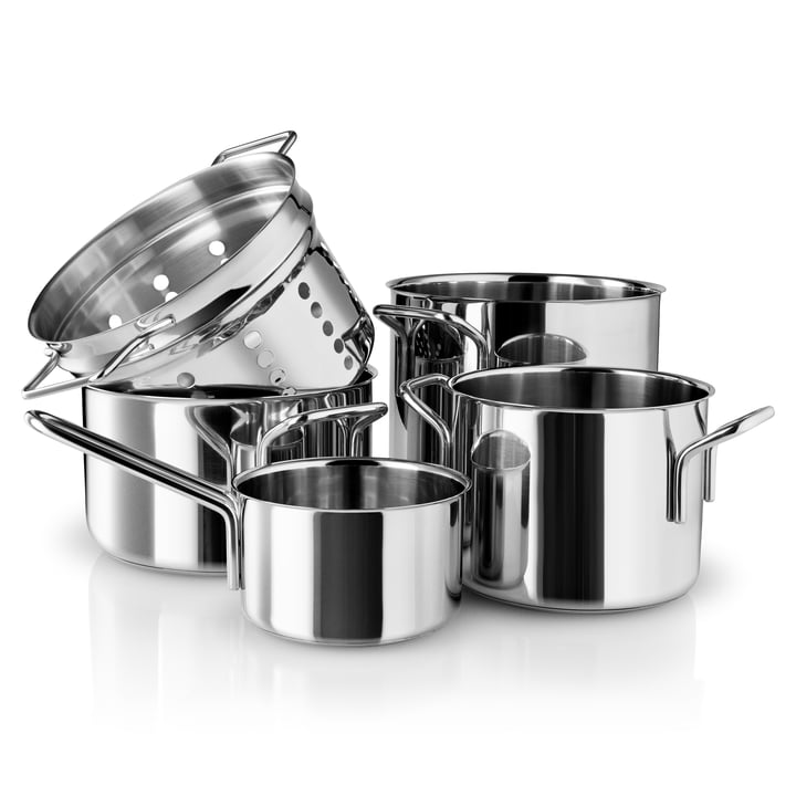 Pasta Set by Eva Trio made of Stainless Steel