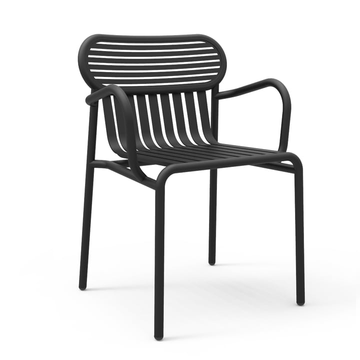 Petite Friture - Week-End Bridge Chair, black (RAL 9005)