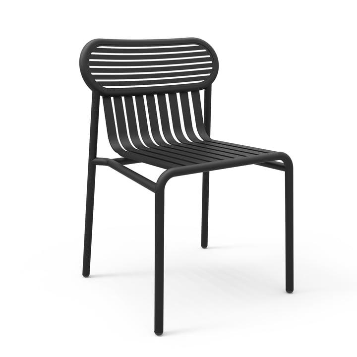 Petite Friture - Week-End Chair, black (RAL 9005)