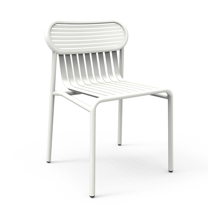 Petite Friture - Week-End Outdoor Chair, white (RAL 9016)
