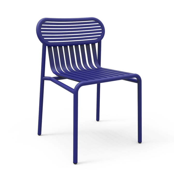 Petite Friture - Week-End Outdoor Chair, blue (RAL 5002)