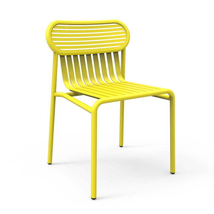 Petite Friture - Week-End Outdoor Chair, yellow (RAL 1016)
