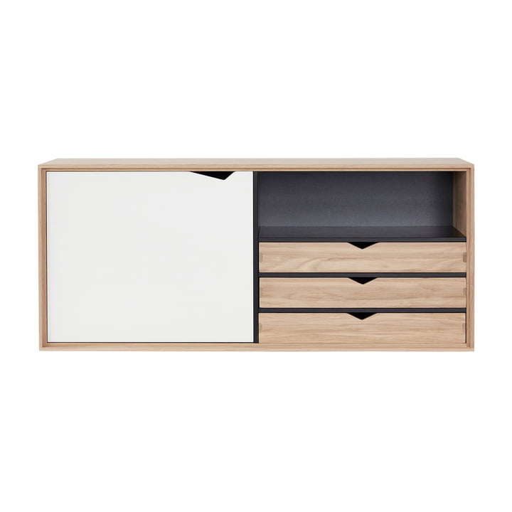 The Andersen Furniture - S2 Hanging Module with 1 Door und 3 Shelves