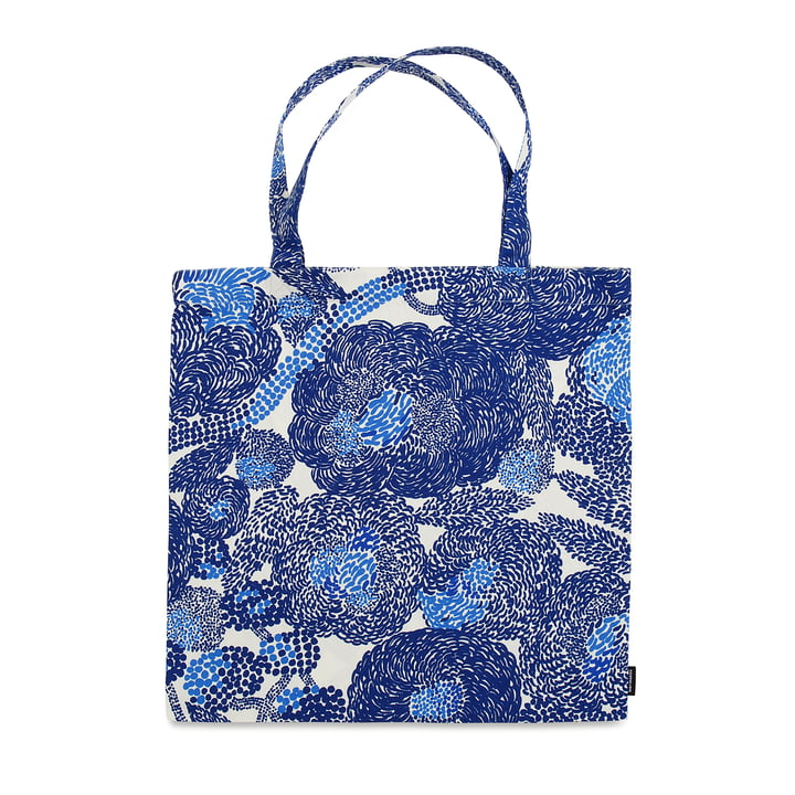 The Marimekko - Mynsteri Shopping Bag, Grey / White (spring 2018)