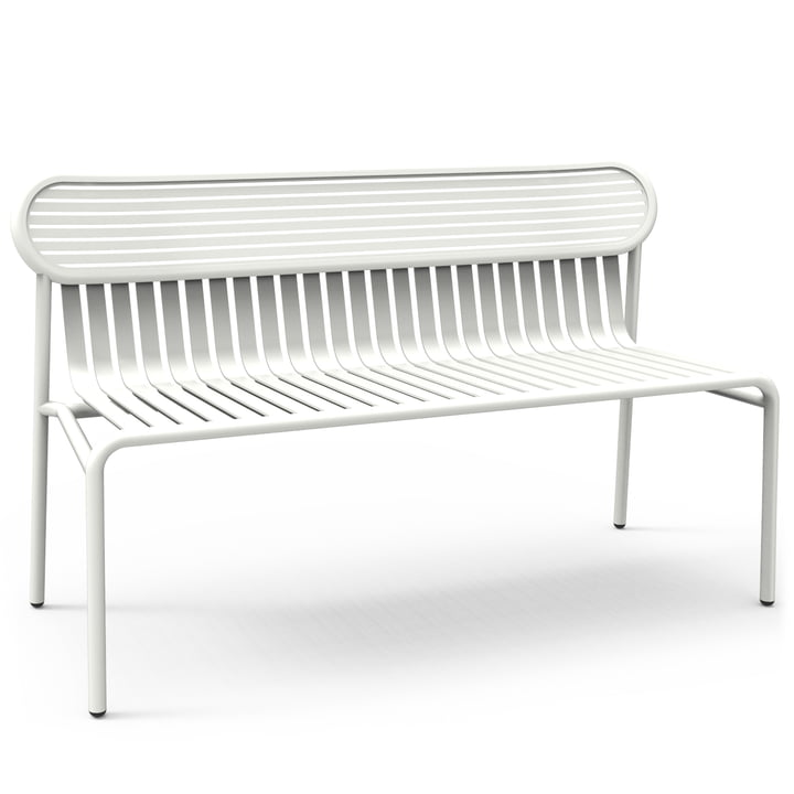 Petite Friture - Week-End Bench, white (RAL 9016)