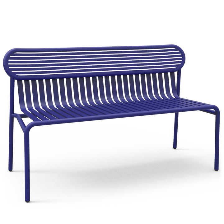 Petite Friture - Week-End Bench, blue (RAL 5002)