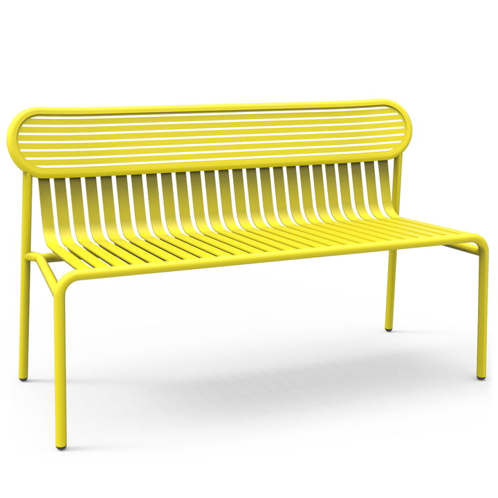 Petite Friture - Week-End Bench, yellow (RAL 1016)