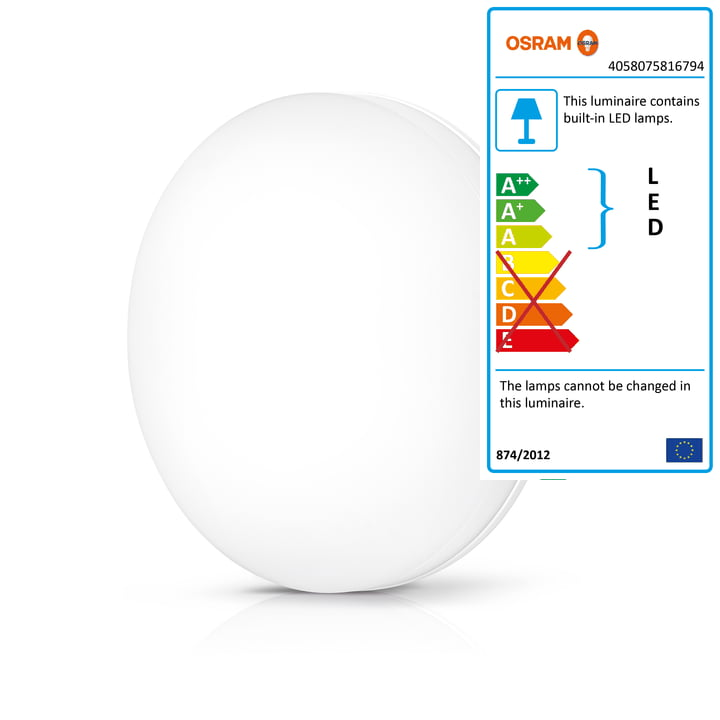 Osram - SMART+ Wall and Ceiling Lamp Ø 33 cm in White