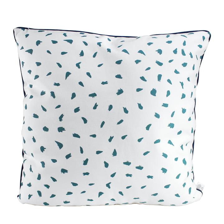 Hartô - Plumes Cushions 50 x 50 cm, white / green
