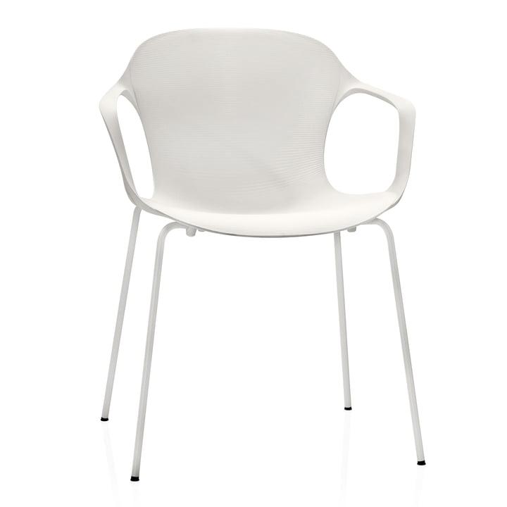 Fritz Hansen - Nap Chair, monochrome, milk white