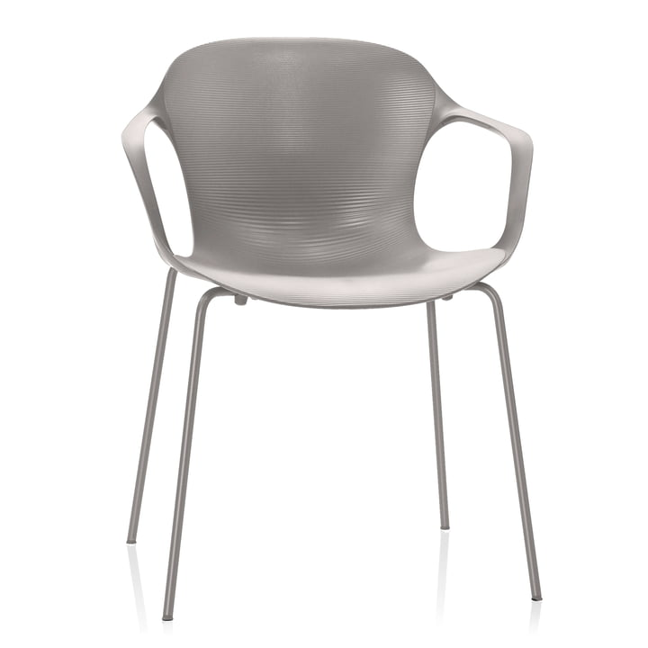 Fritz Hansen - Nap Chair, monochrome, silver grey