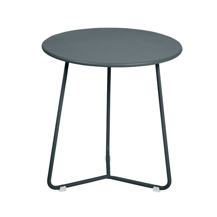 Fermob - Cocotte Side Table / Stool, Ø 34 cm x H 36 cm, storm grey
