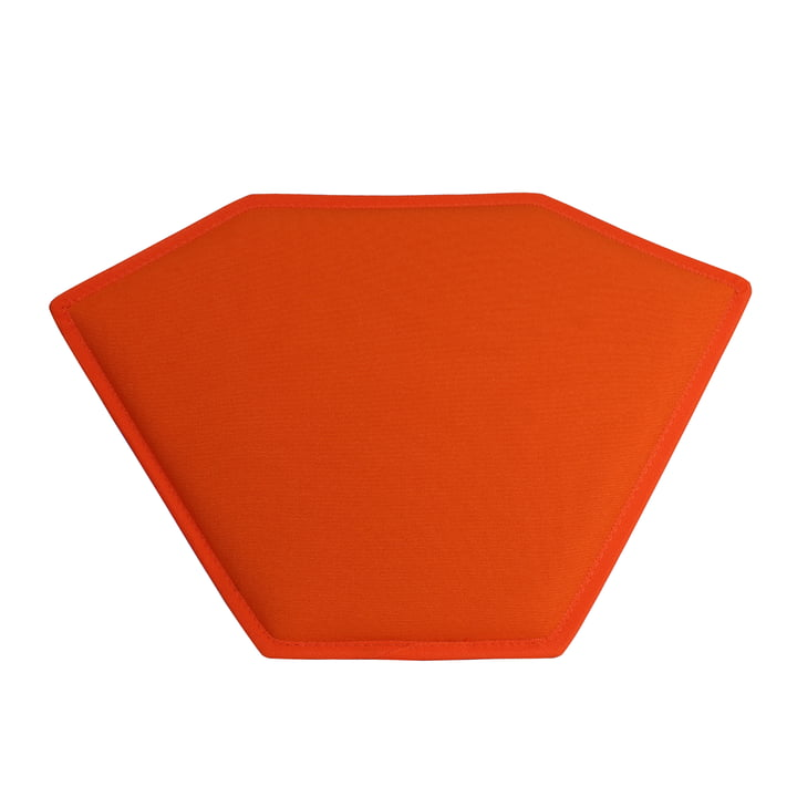 The Magis - Stool One orange seat cushion