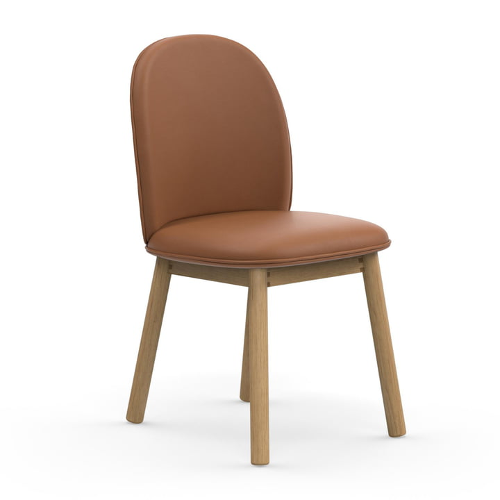 The Normann Copenhagen - Ace Chair Tango Leather in brandy