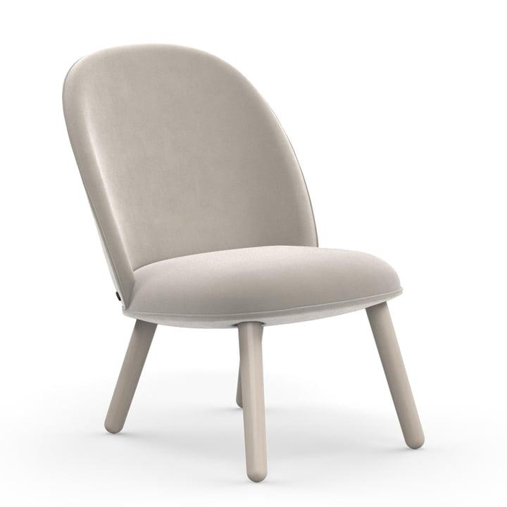 The Normann Copenhagen - Ace Lounge Chair Velour in beige