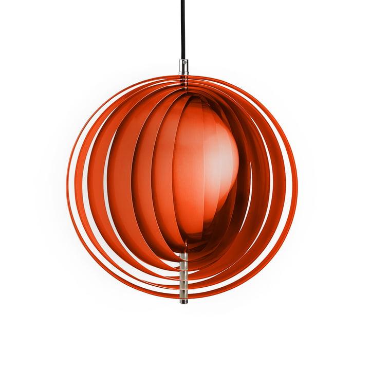 Moon Pendant Light by Verpan in Orange