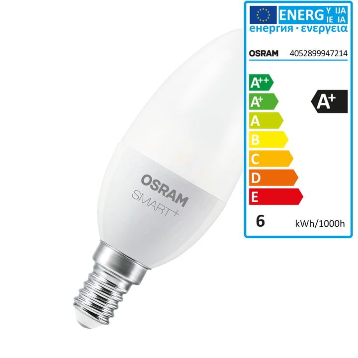 SMART+ LED Classic B 40 (E14 / 6 W) by Osram