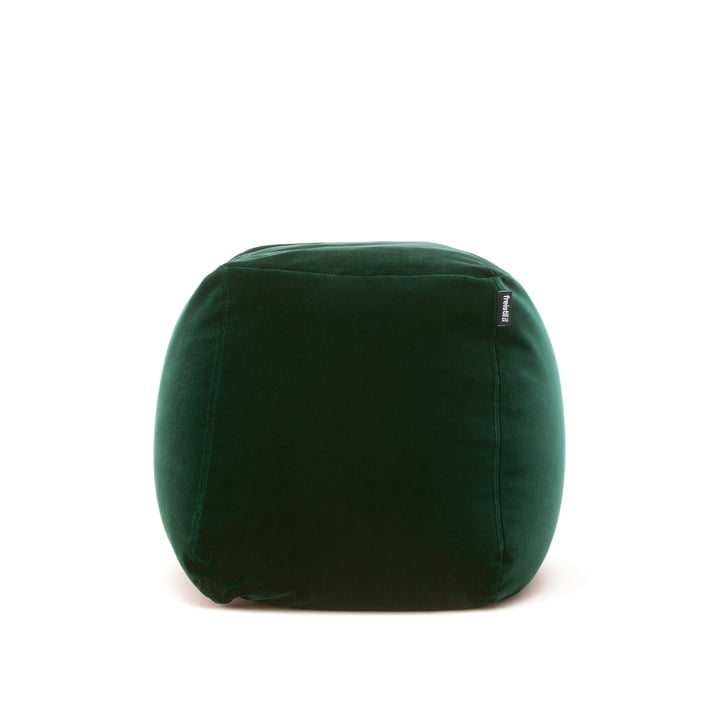 The freistil - 173 Pouf, Ø 55 cm in Pine Green (6084)