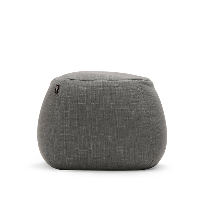 The freistil - 173 Pouf, Ø 55 cm in Grey (1026)