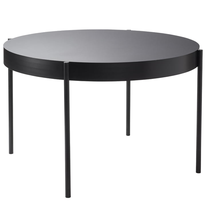 The Verpan - Table 430, Ø 120 in Black