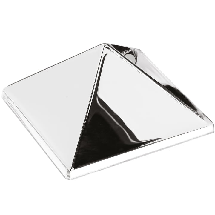 The Verpan - Mirror Sculptures, 1 Pyramid, Silver / Mirrored