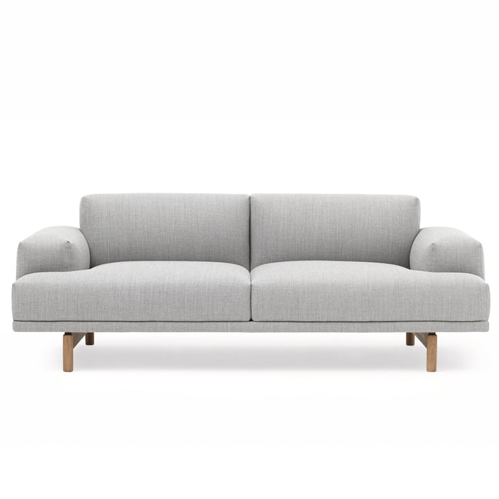 Compose Sofa 2-Seater by Muuto in Vancouver 14 / Oak