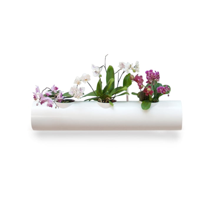 Additional Plant Pipe for Hanging Garden by urbanature in White