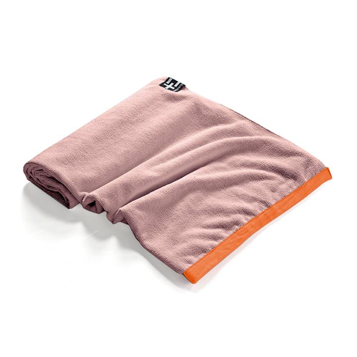 Agi Moe Towel by Terra Nation in coral