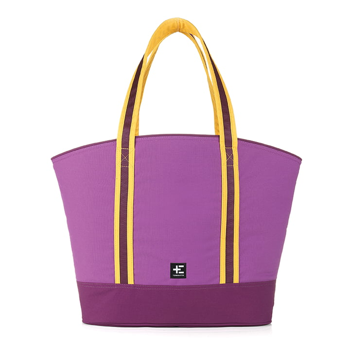 Rau Kopu Beach Bag by Terra Nation in purple