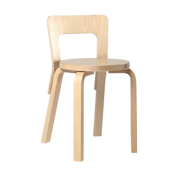 The Artek 65 Chair, Birch Veneer