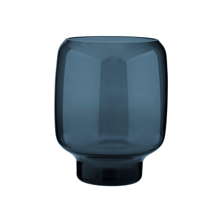 Stelton - Hoop Vase, H 18 cm, midnight blue