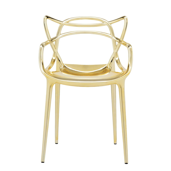 The Kartell - Masters Chair, Metallic Gold