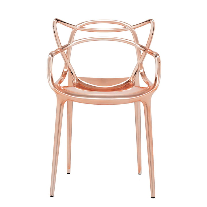 The Kartell - Masters Chair, Metallic Copper