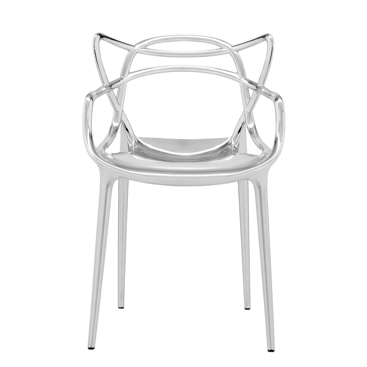 The Kartell - Masters Chair, Metallic Chromed