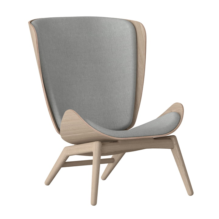 Umage - The Reader Armchair, natural oak / slate grey