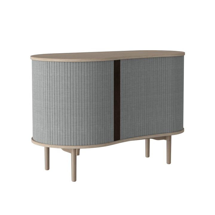 Audacious chest of drawers from Umage in natural oak / silver grey