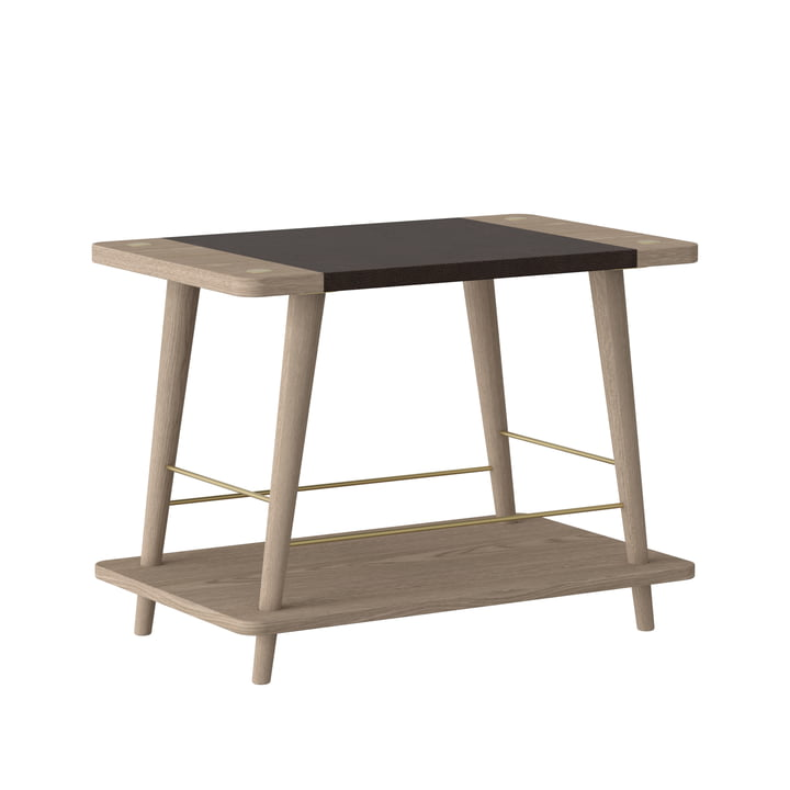 Convenience bench / shelf from Umage in oak nature / black