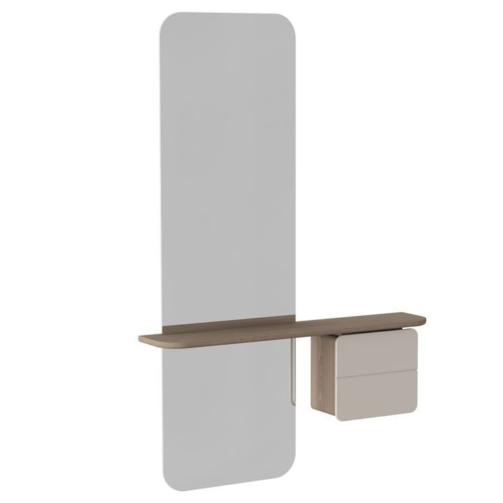 Umage - One More Look Mirror, pearl white