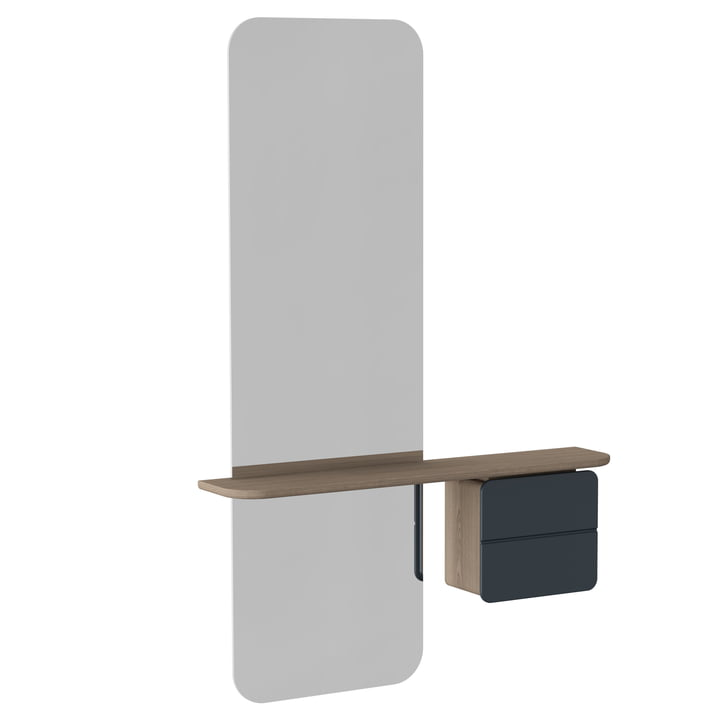Umage - One More Look Mirror, anthracite grey